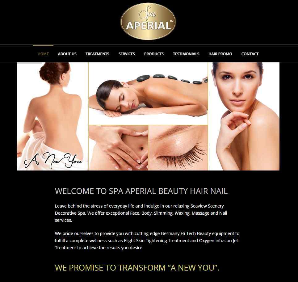 Spa Aperial Top Hair Rebonding Salons in Singapore