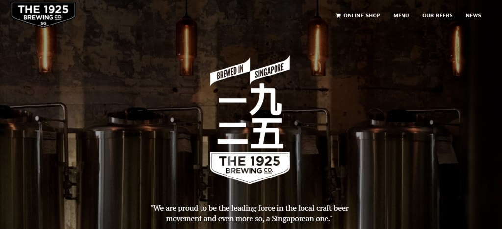 The 1925 Brewing Co Top Breweries in Singapore