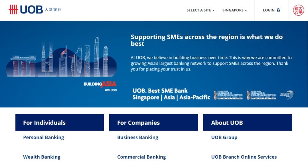 UOB Top Credit Cards in Singapore