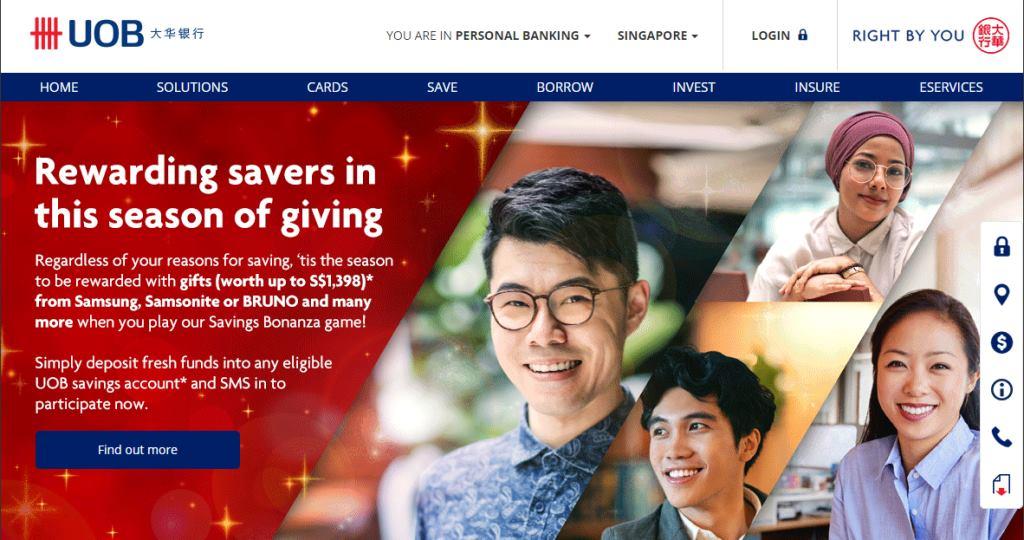 UOB Top Personal Loan Providers in Singapore