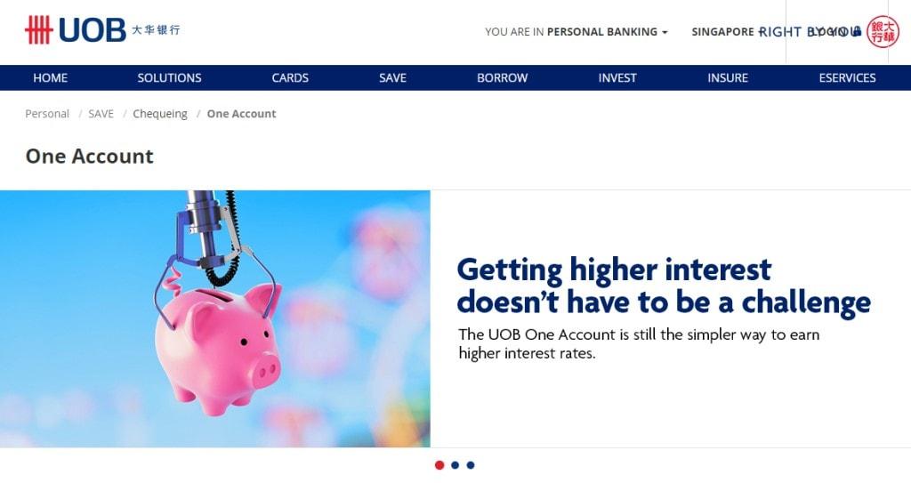 UOB Top Savings Accounts in Singapore