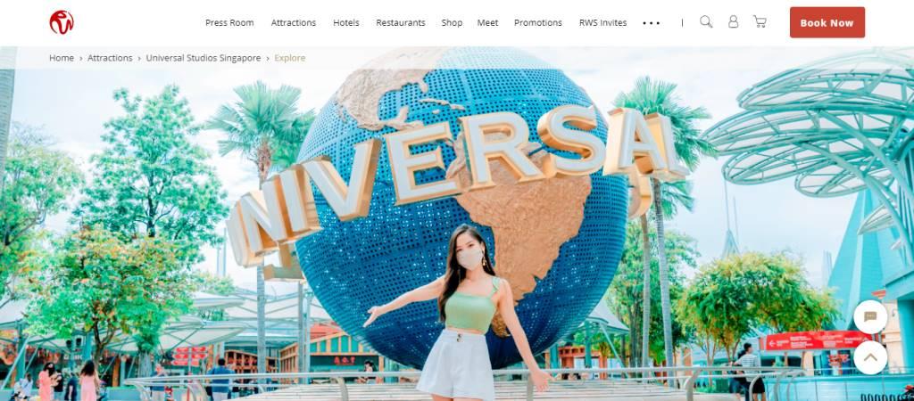 Universal Studios Top Attractions in Singapore