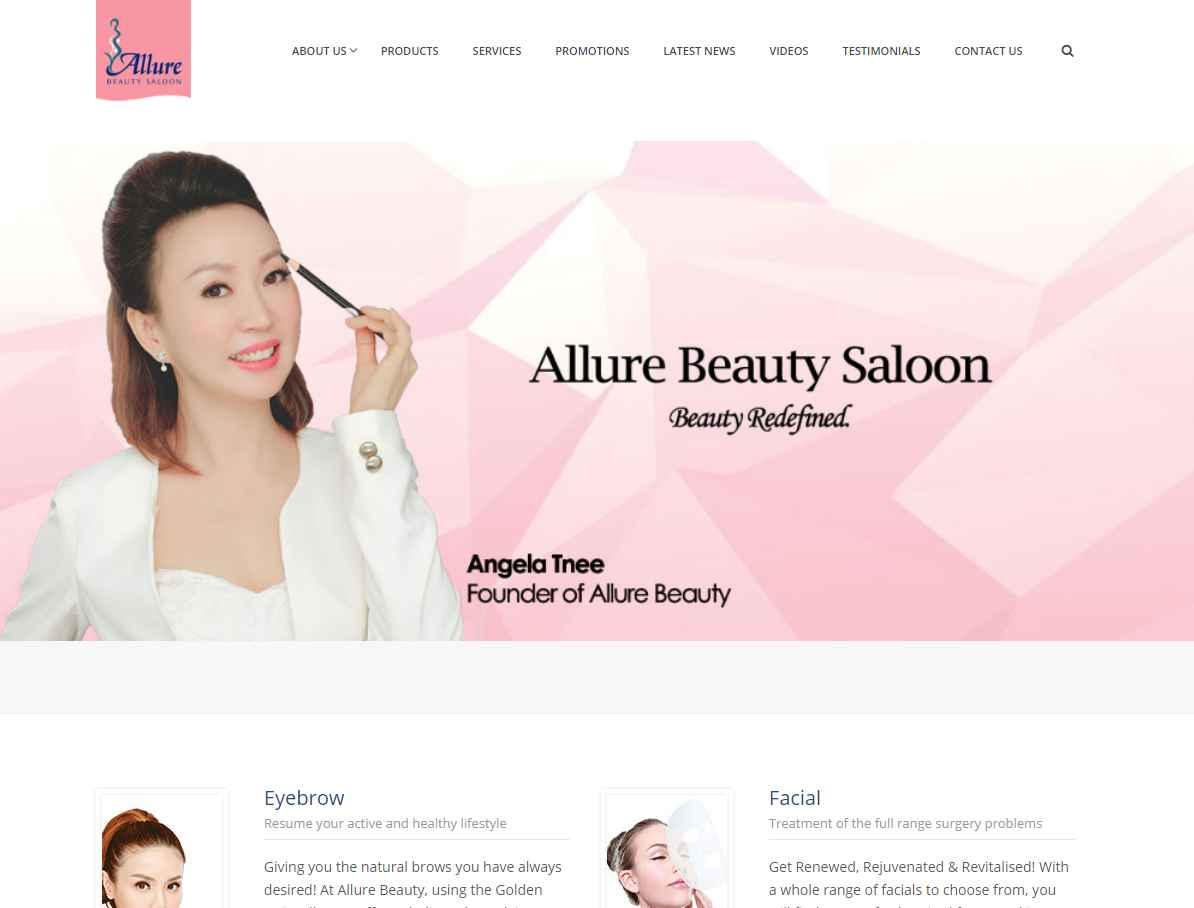 allure Top Microblading Salons in Singapore