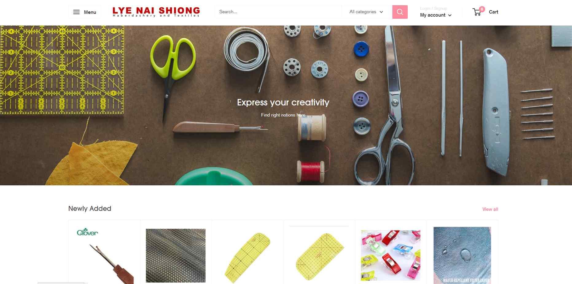 lye nai shong Top Art Supplies Stores In Singapore