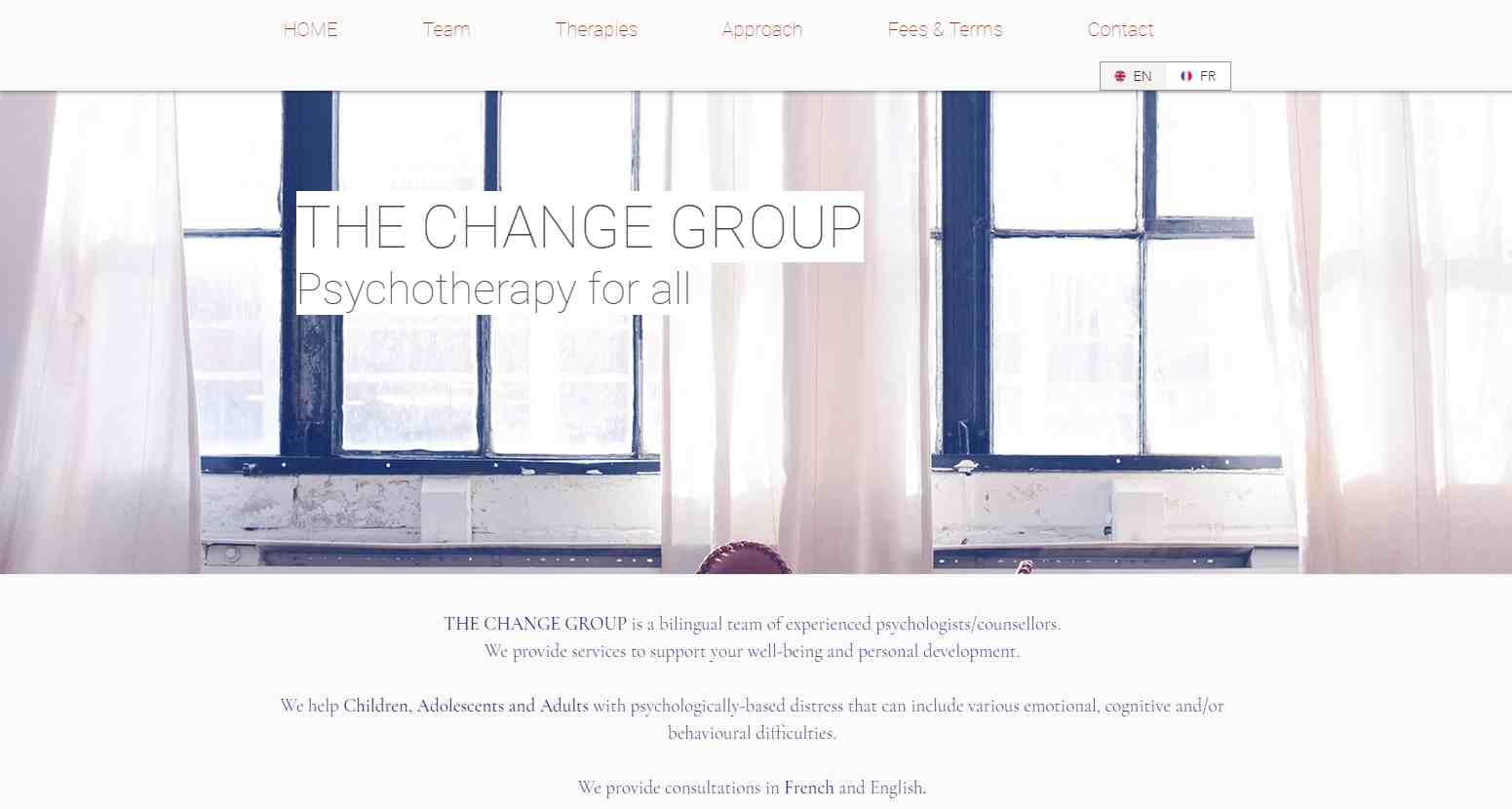 the change group Top Family Therapies in Singapore