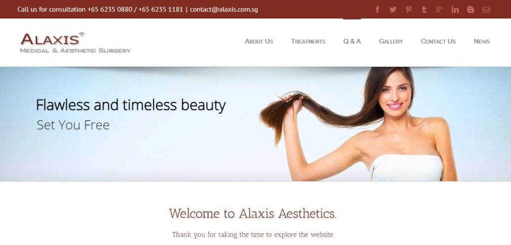 Alaxis Aesthetic Top Hair Transplant Clinics in Singapore