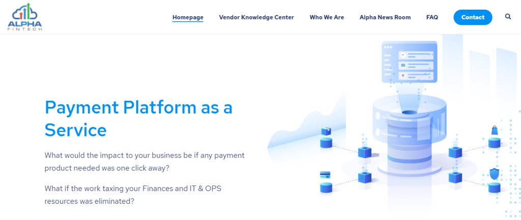 Alpha Top Fintech Service Providers in Singapore