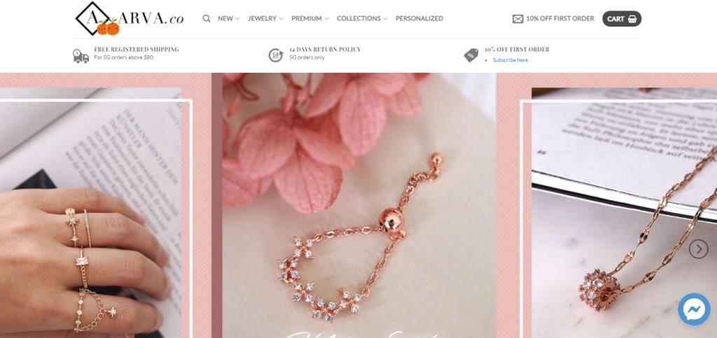 Arva Co. Top Custom Bracelet Stores in Singapore