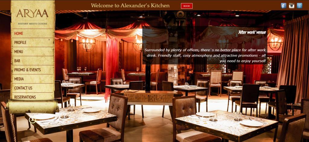 Aryaa Top Greek Restaurants in Singapore