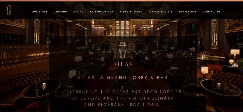 Atlas Bar Top High Tea Places in Singapore