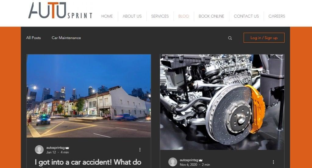 Auto Print Top Auto Blogs in Singapore