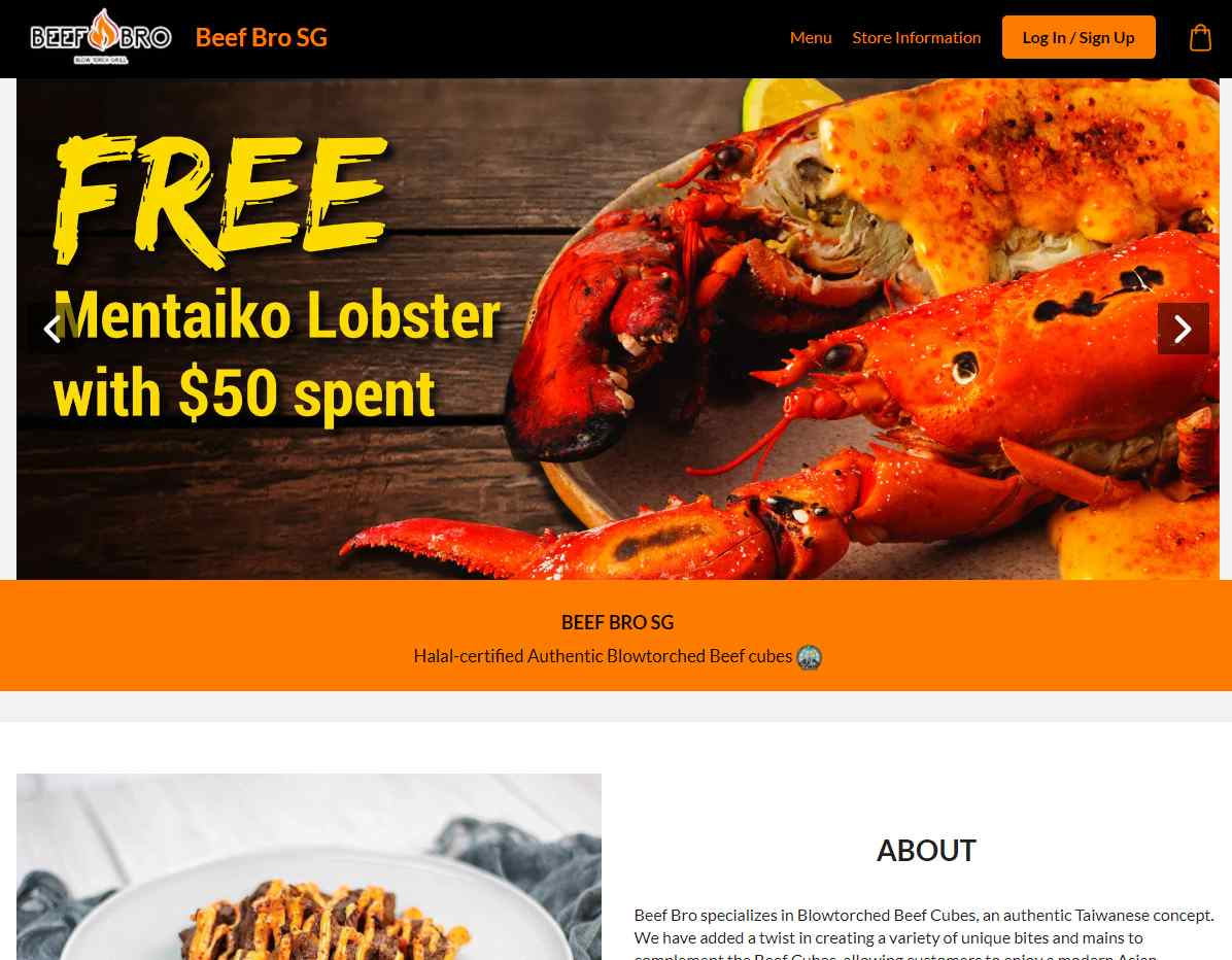 Beef bro Top Halal Food Delivery Services in Singapore