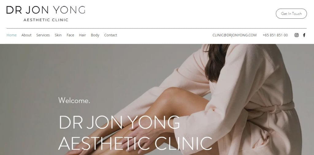 Dr Jon Yong Top Hair Transplant Clinics in Singapore