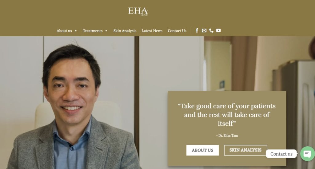 Eha Top Hair Transplant Clinics in Singapore