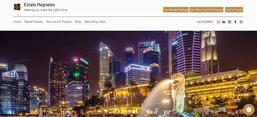 Estate Magnates Top Property Blogs in Singapore
