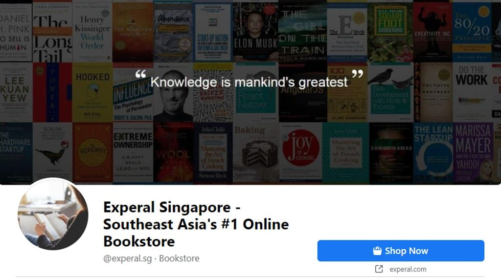 Experal Top Audiobook Retailers in Singapore