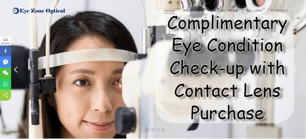 Eye Zone OPtical Top Optometrists in Singapore