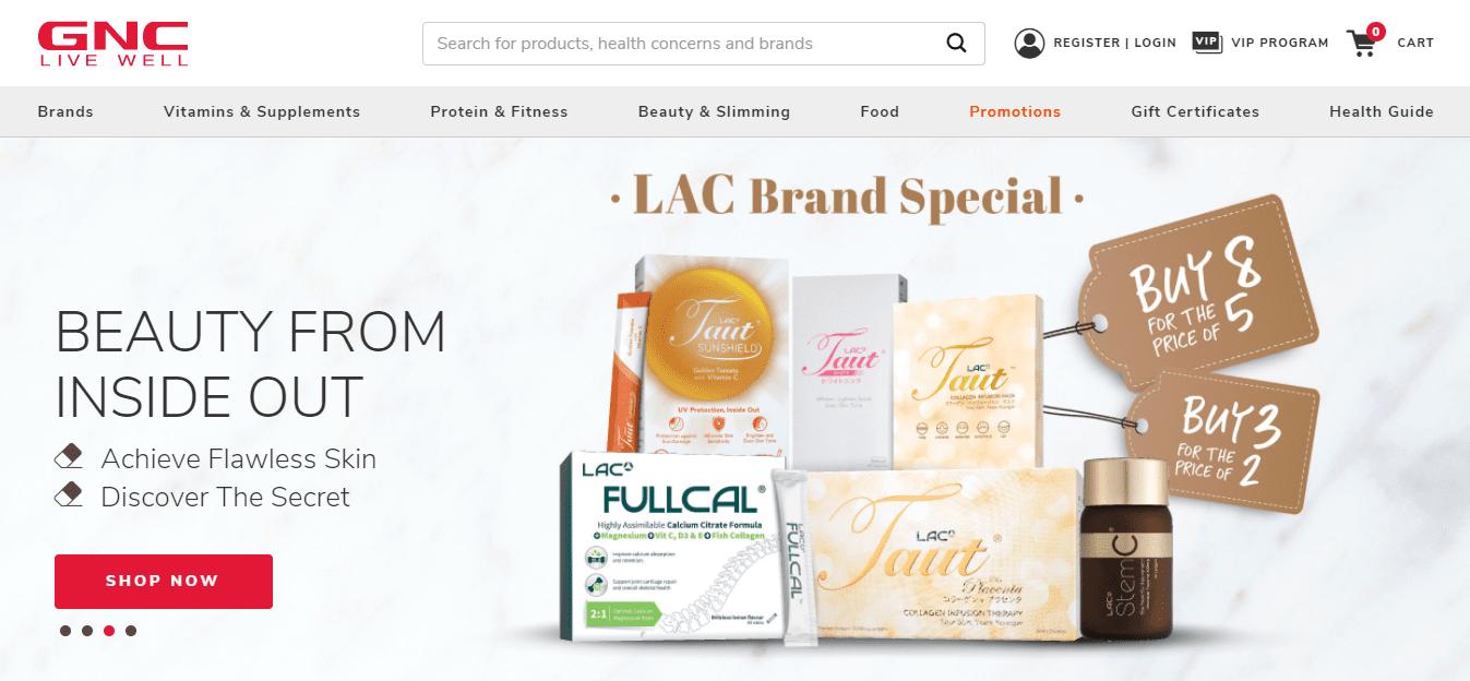 GNC Top Multivitamin Stores in Singapore