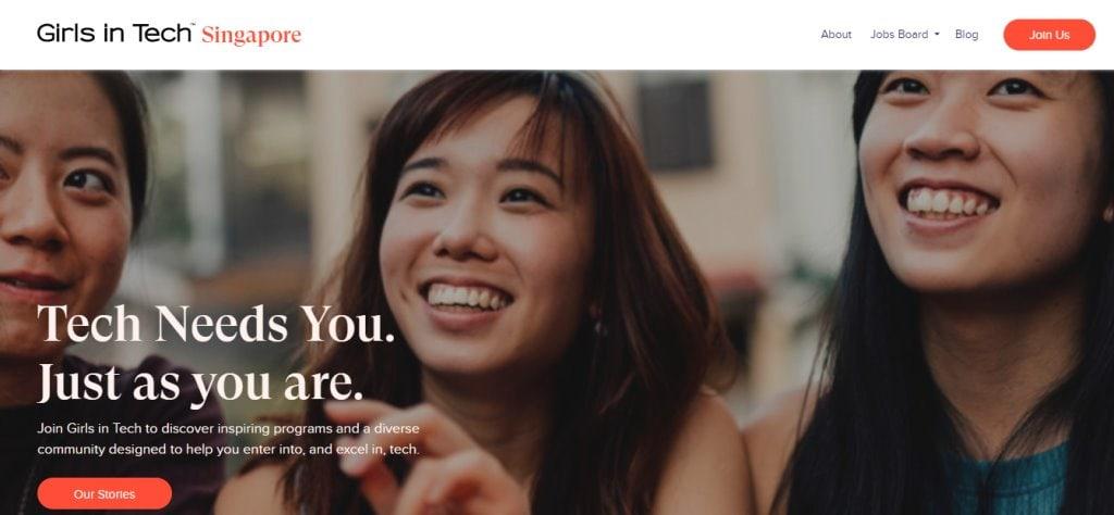 Girls in Tech Top Tech Blogs in Singapore