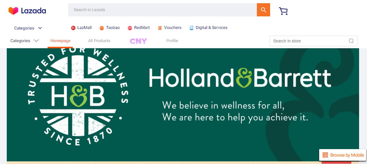 Holland & Barrett Top Multivitamin Stores in Singapore