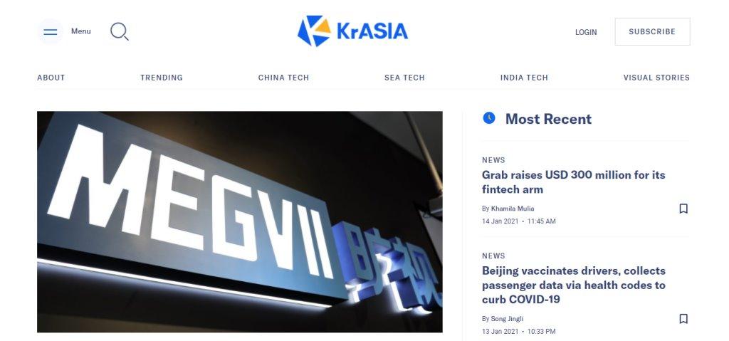 KrAsia Top Tech Blogs in Singapore