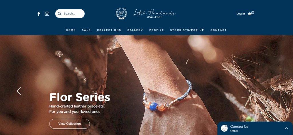 Latch Handmade Top Custom Bracelet Stores in Singapore