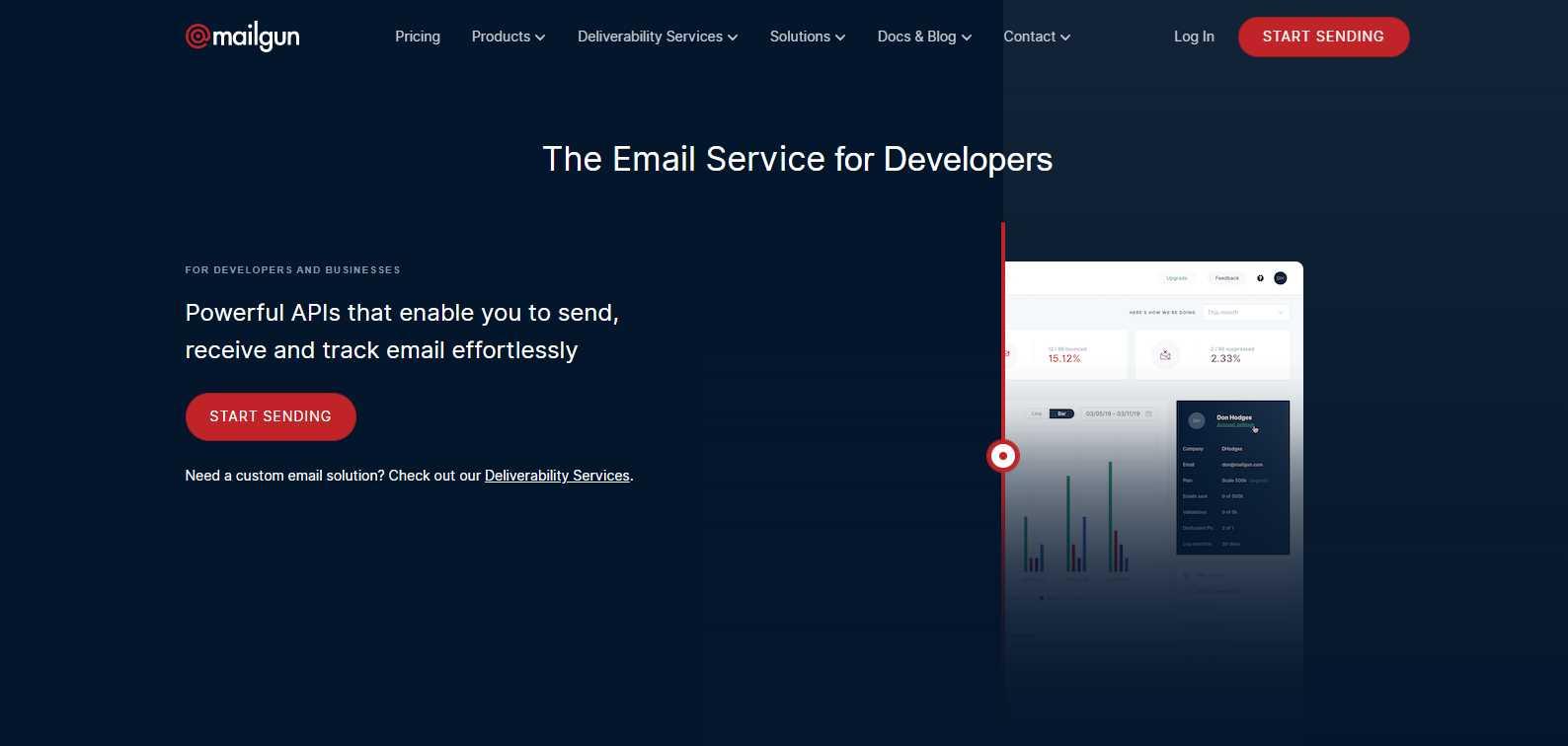 Mailgun Top 30 Email Marketing Software