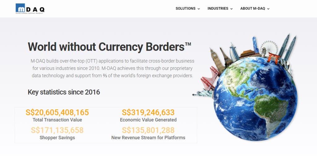 Mdaq Top Fintech Service Providers in Singapore