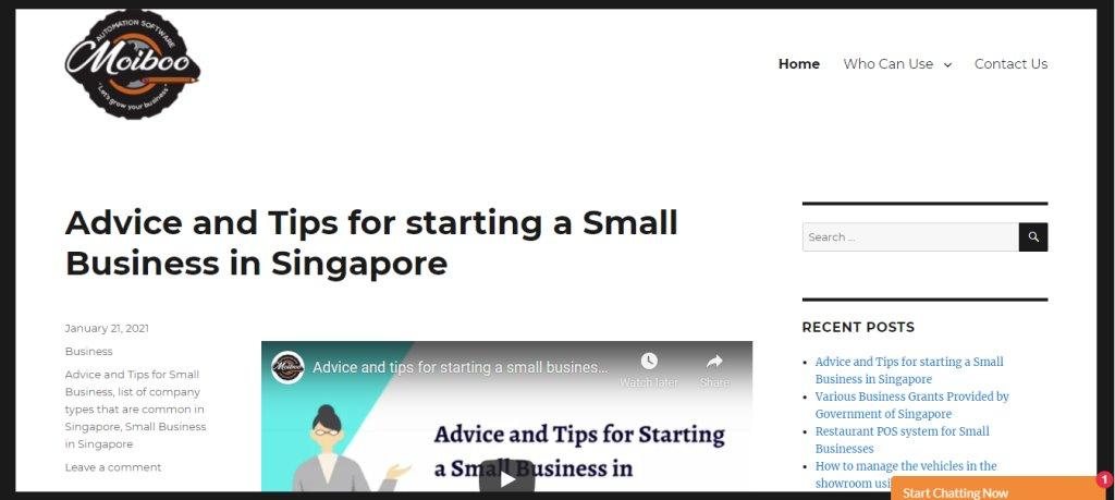 Moiboo Top Auto Blogs in Singapore
