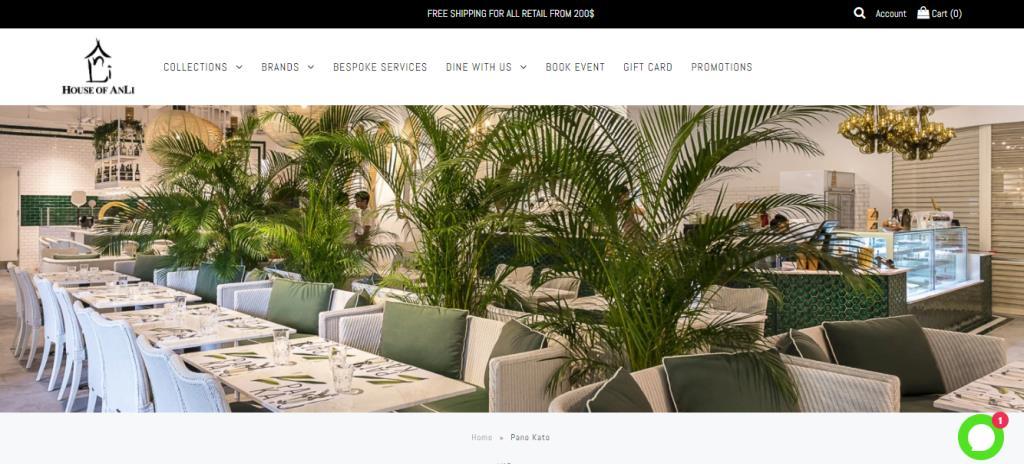 Pano Kato Top Greek Restaurants in Singapore