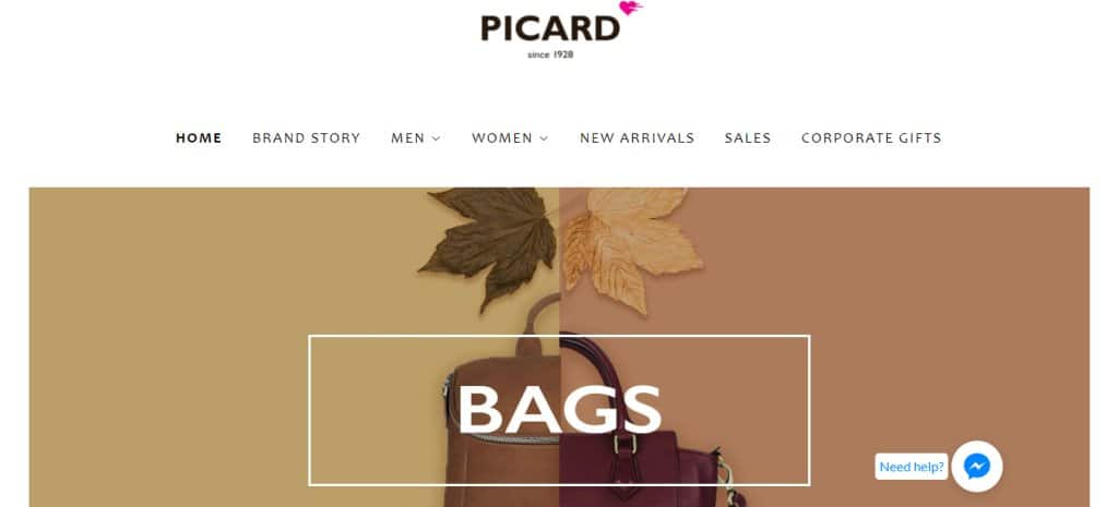Picard Top Briefcase Stores in Singapore