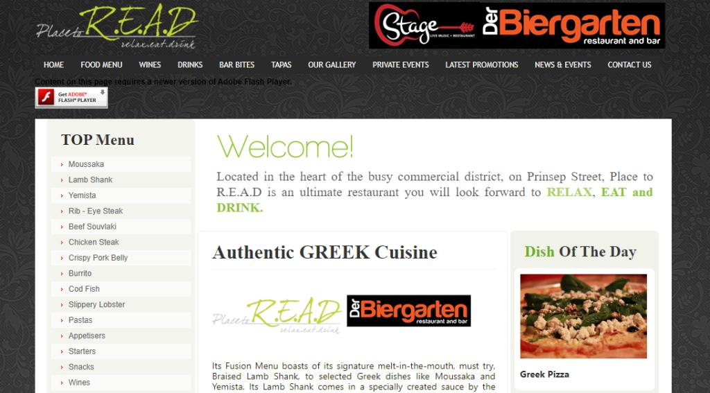 Place to READ Top Greek Restaurants in Singapore