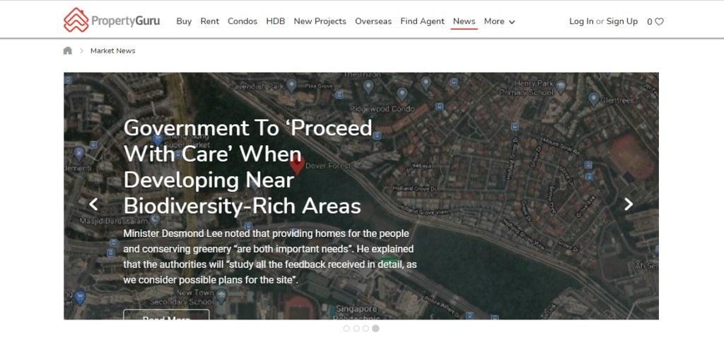 Property Guru Top Property Blogs in Singapore