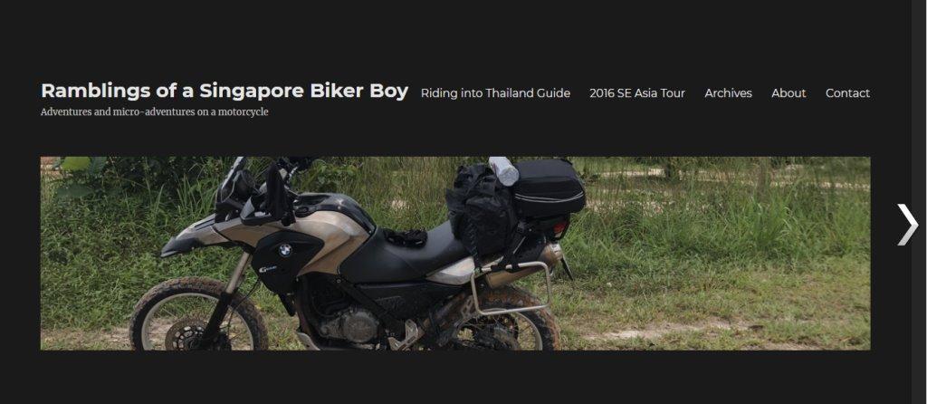 SG Biker Boy Top Auto Blogs in Singapore