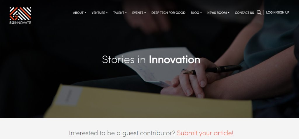 SG Innovate Top Tech Blogs in Singapore