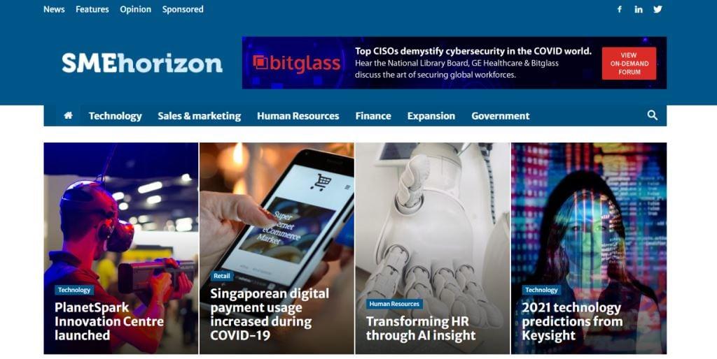 SME Horizon Top Tech Blogs in Singapore