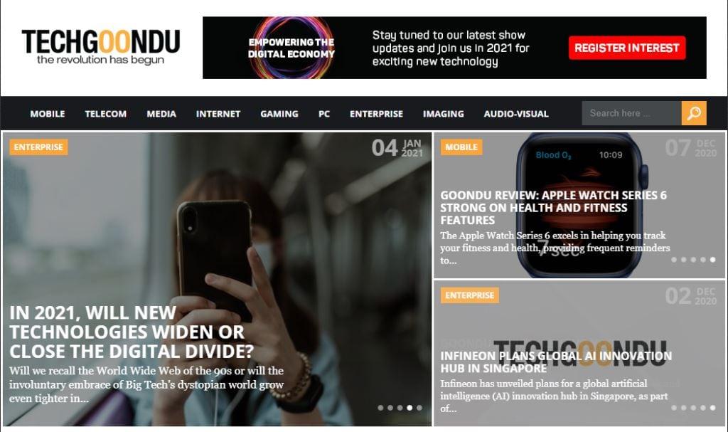 Tech Goondu Top Tech Blogs in Singapore