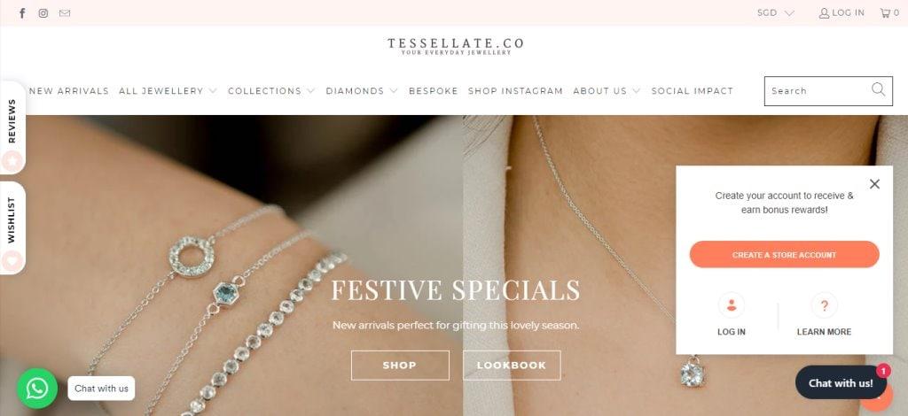 Tesselate Top Custom Bracelet Stores in Singapore