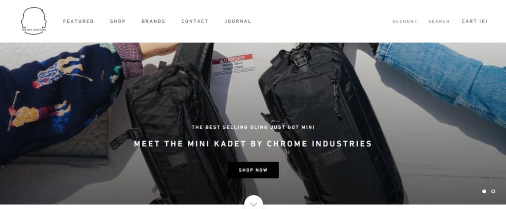 The bag creature Top Briefcase Stores in Singapore