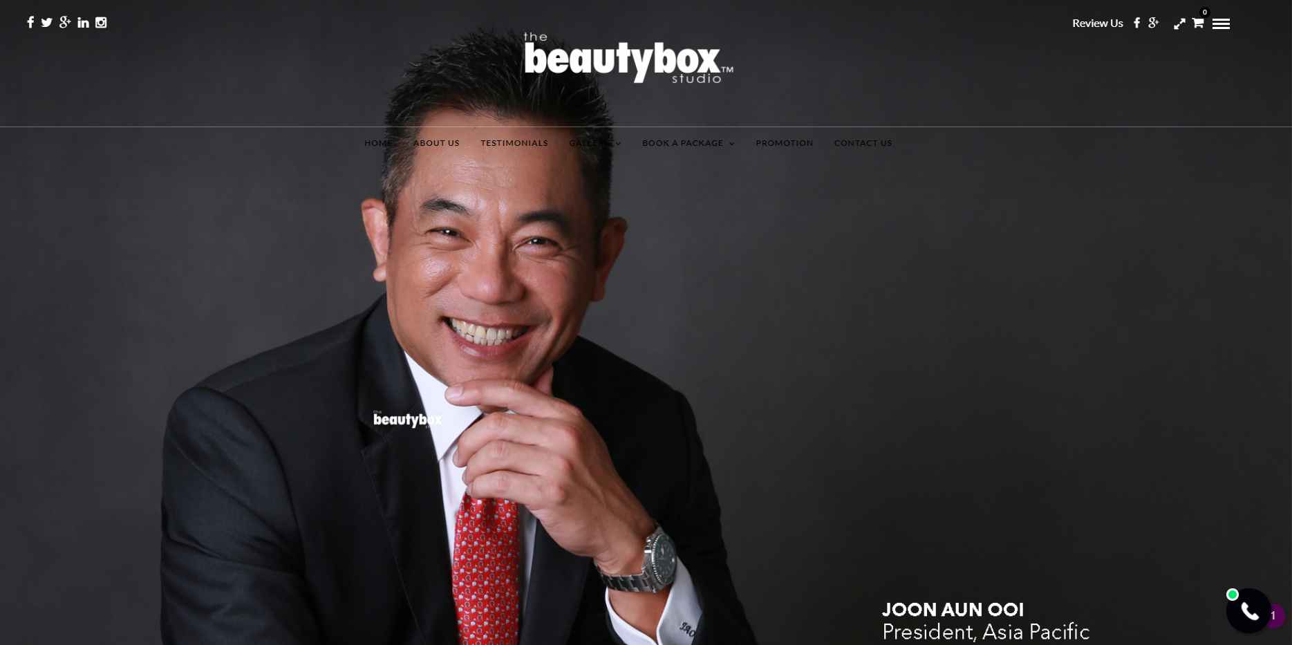 The beautybox Top Portrait Photography Studios in Singapore