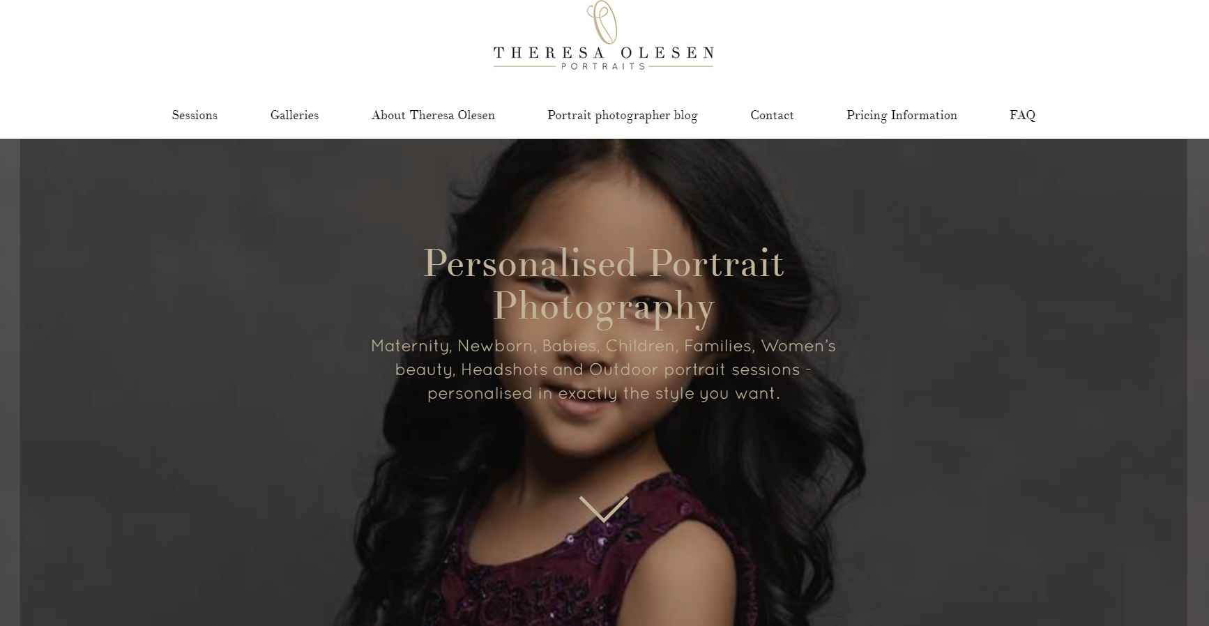 Theresa olesen Top Portrait Photography Studios in Singapore