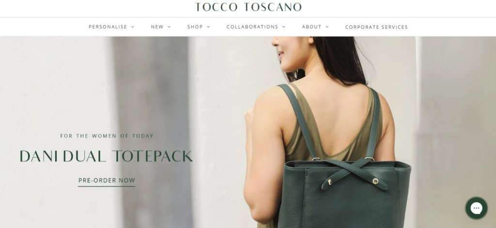 Tocco Toscano Top Briefcase Stores in Singapore