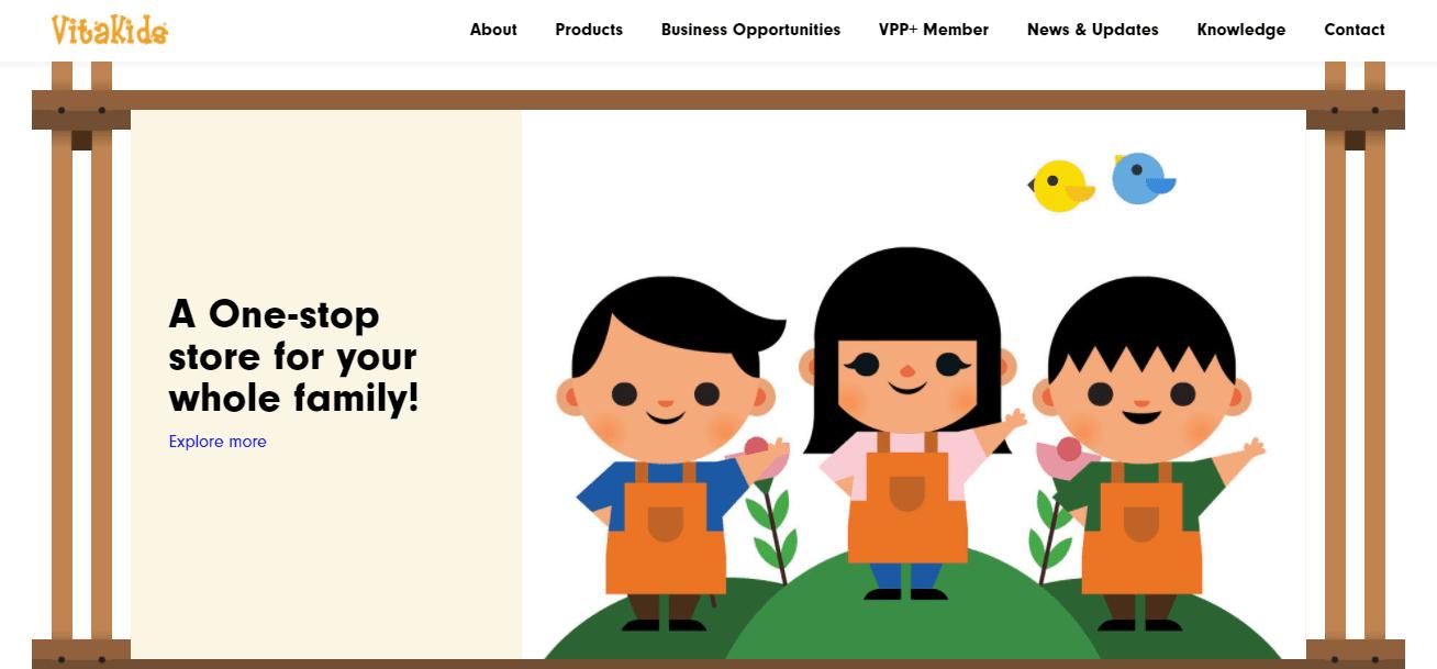 VitaKids Top Multivitamin Stores in Singapore