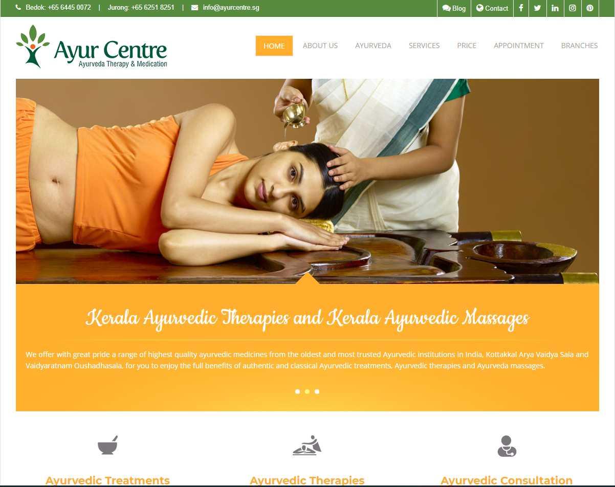 ayur centre Top Insomnia Treatment Providers in Singapore