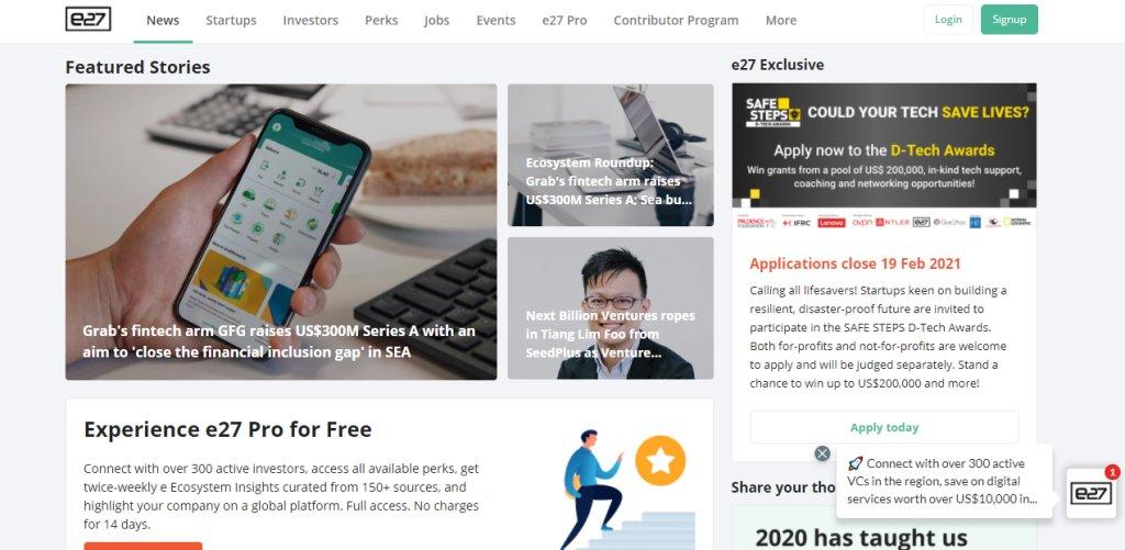 e27 Top Tech Blogs in Singapore