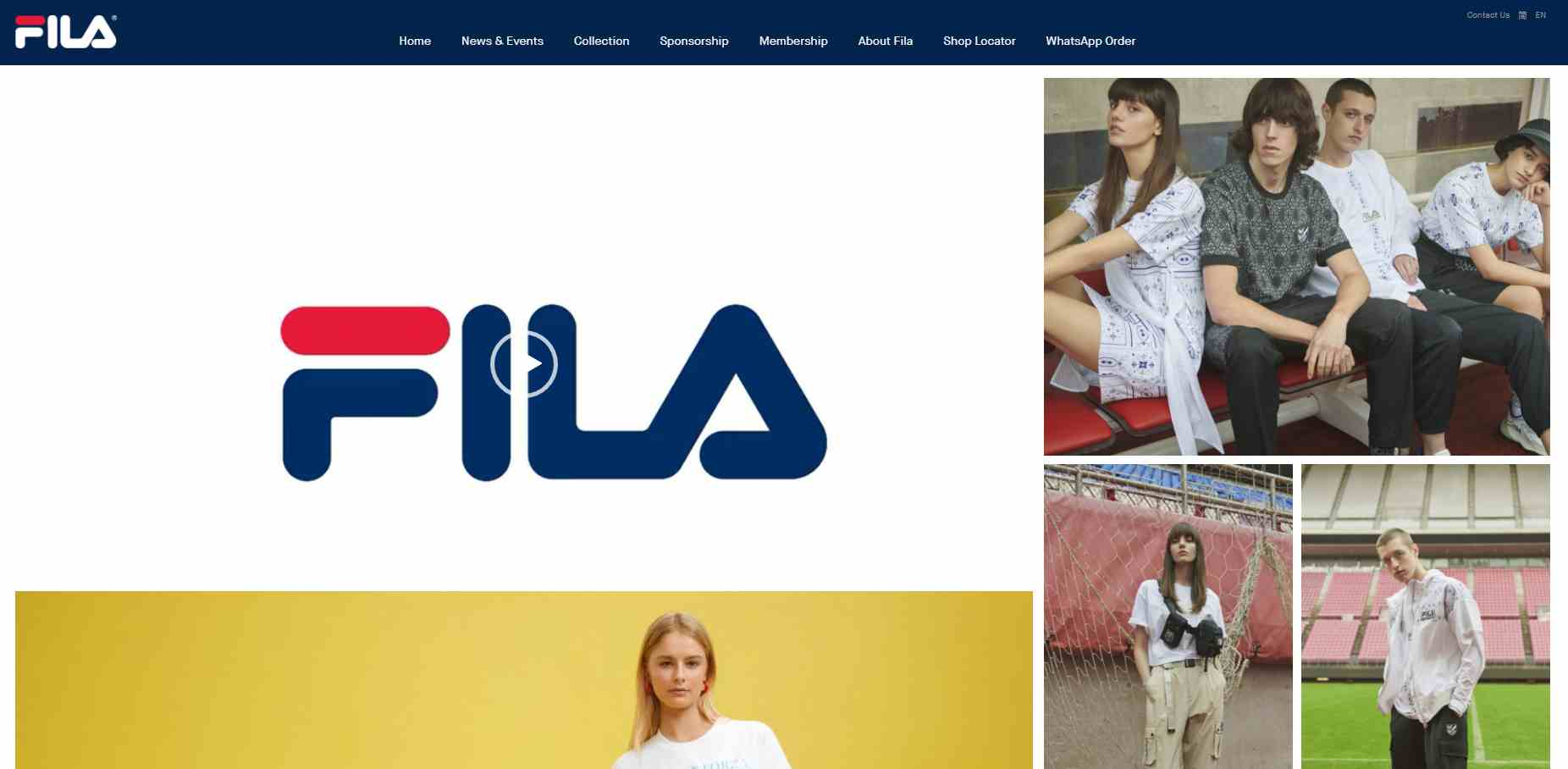 fila Top Shoe Stores in Singapore