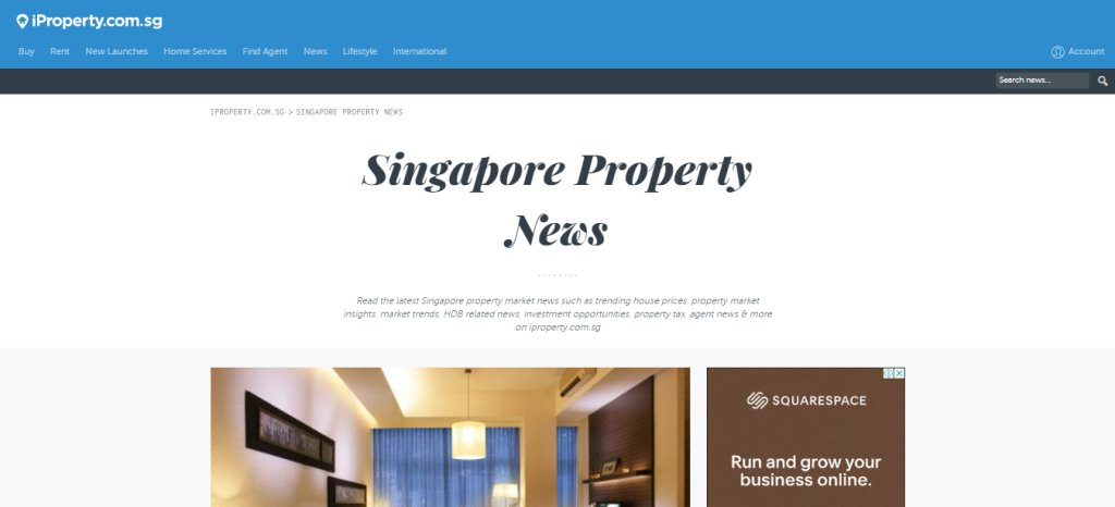 iProperty Top Property Blogs in Singapore