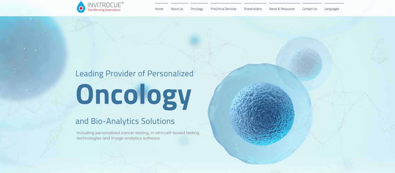 invitro cue Top Nanotechnology Service Providers in Singapore