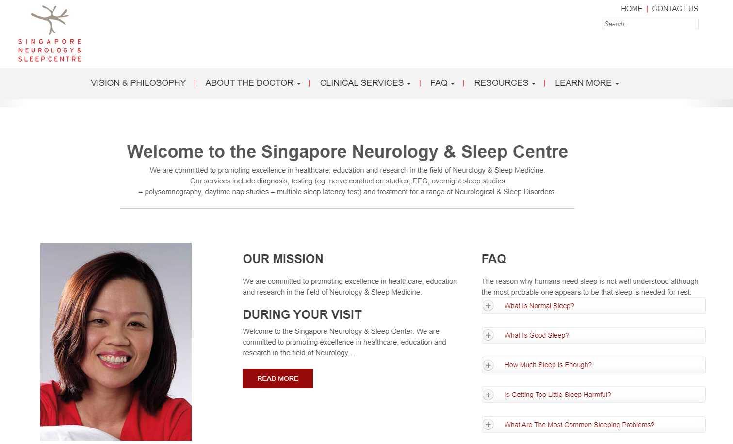 neurology sleep Top Insomnia Treatment Providers in Singapore