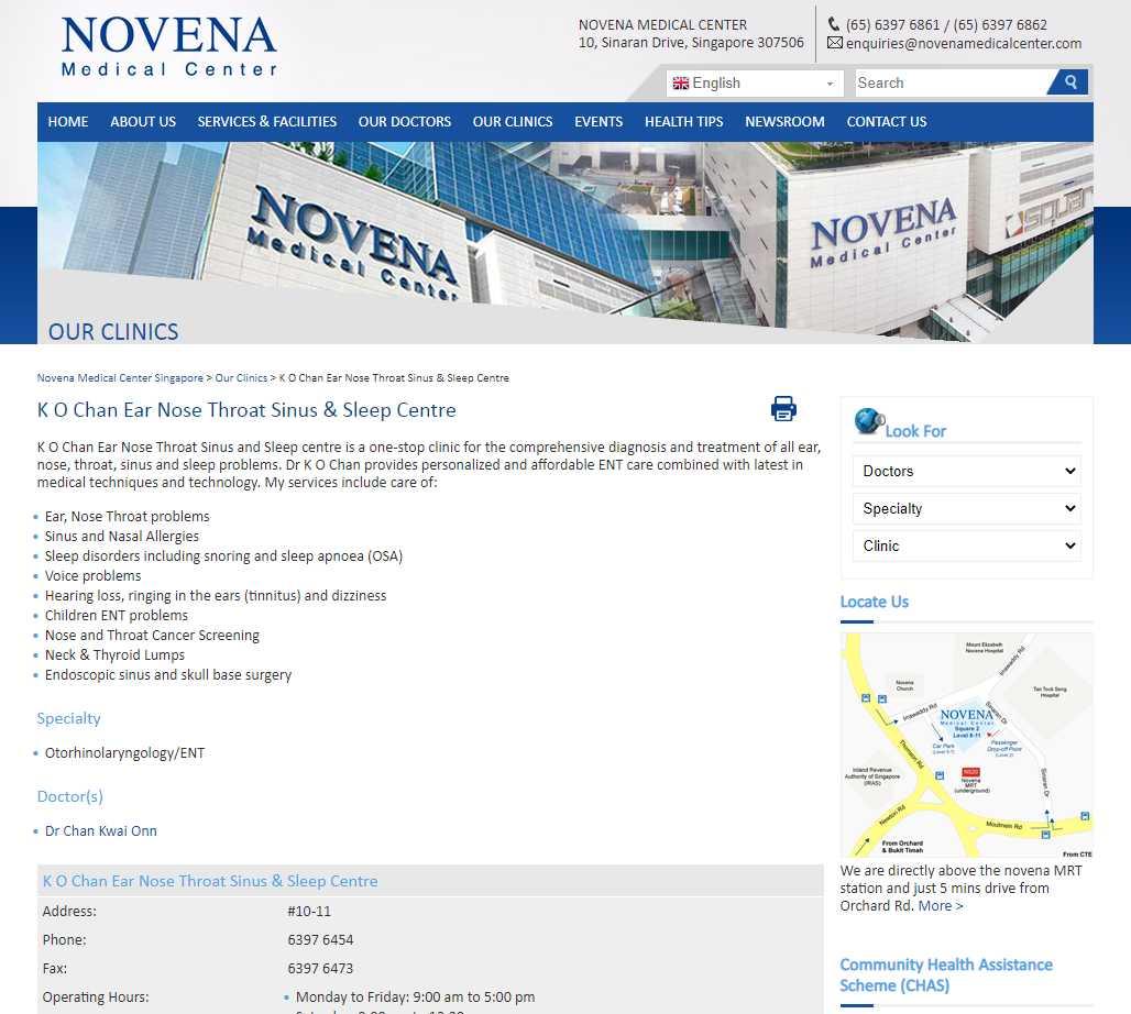 novena Top Insomnia Treatment Providers in Singapore